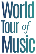 World Tour of Music Logo