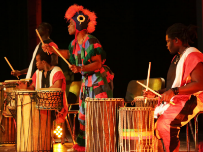 World Tour of Music African Drummers