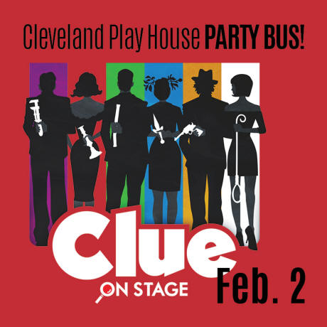 Clue Party Bus Event