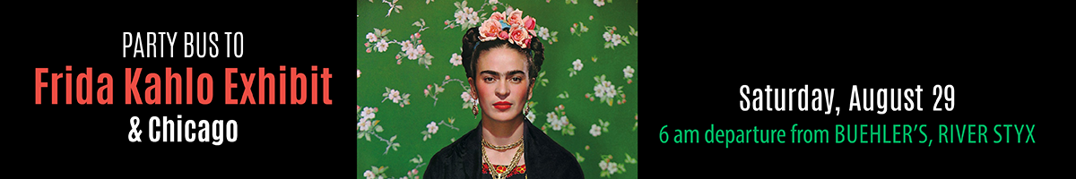 Frida Kahlo-Chicago banner