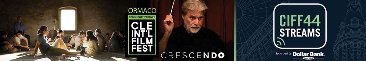 picture of crescendo actor and CIFF logo
